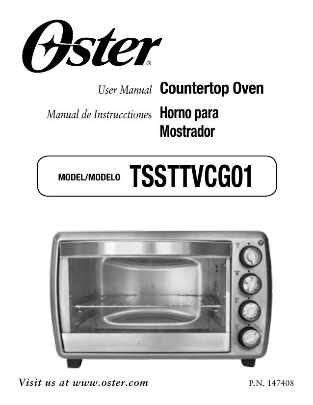 Oster Tssttvcao1 Tssttvcg01