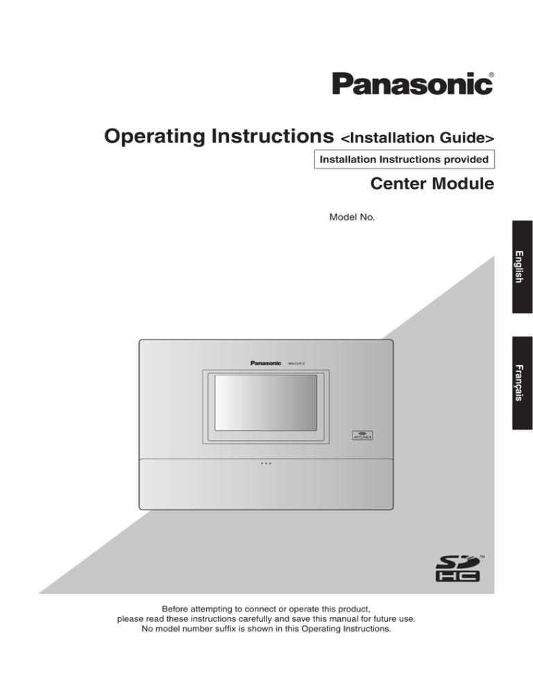 ATTUNE HEADSET WX-CH450 Drive-Thru PANASONIC w MICROPHONE//Guide//BATTERY WX-B3030