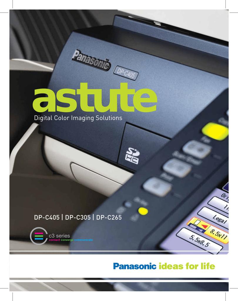PANASONIC DP-C265 PCL6 DRIVERS FOR MAC DOWNLOAD