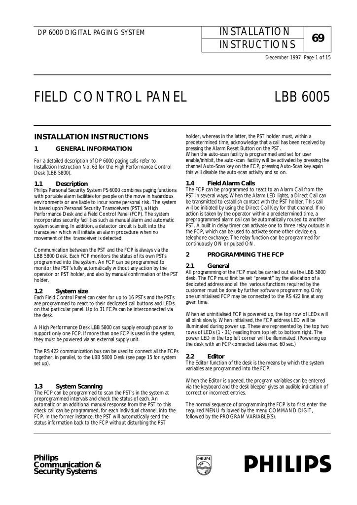 Philips DP 6000 User's Manual | manualzz com