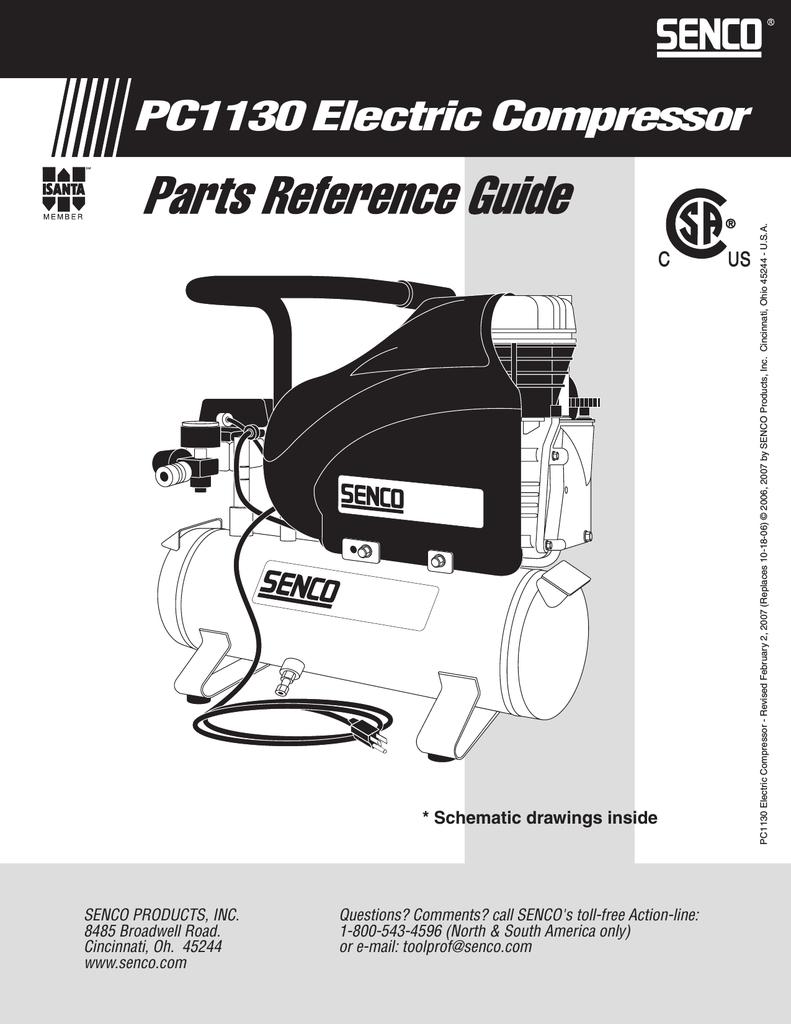 Senco CW0035 Pc1130 Crankshaft