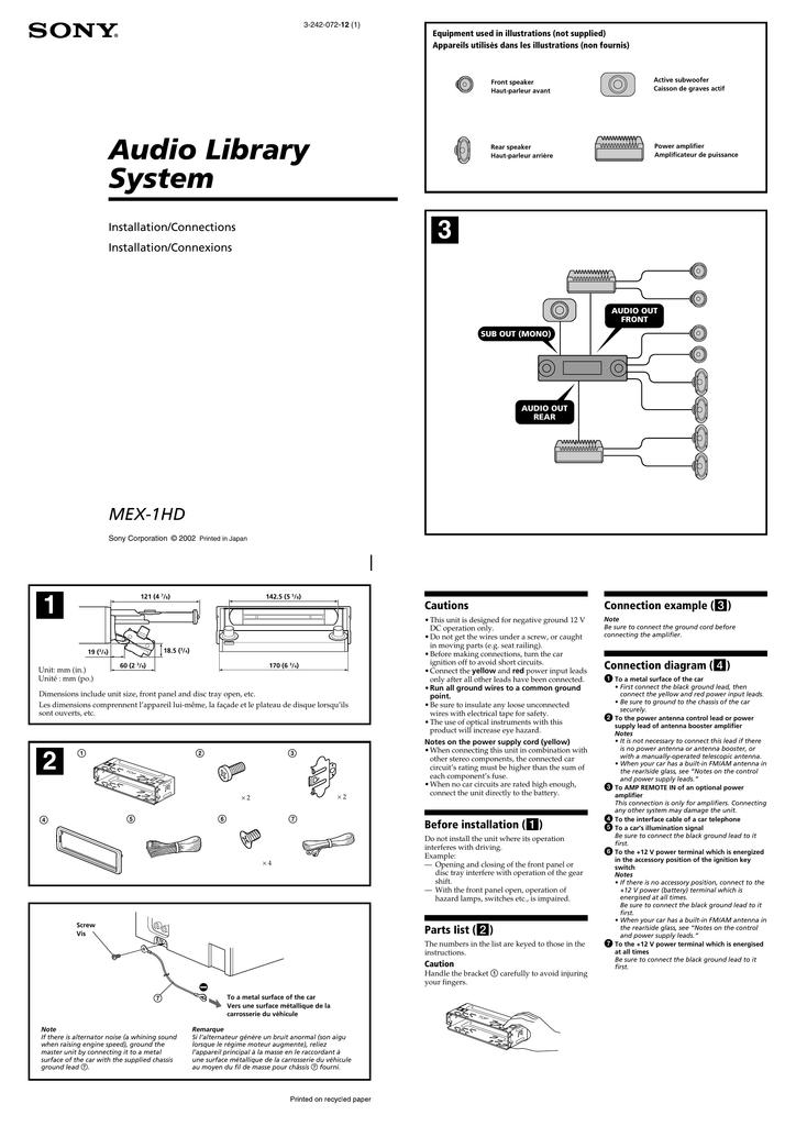diagram sony cdx l250 wiring diagram for full version hd