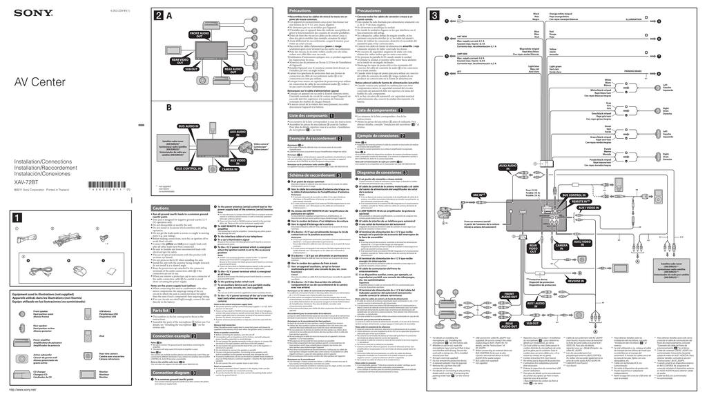 003511685_1 99d263ffd6fbd95eca819c1c2d47cdfc sony xav 72bt wiring diagram wiring diagrams wiring diagrams sony xav 62bt wiring diagram at panicattacktreatment.co