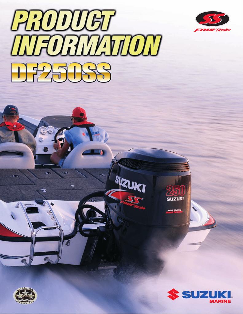 Suzuki DF250SS Product manual | manualzz com