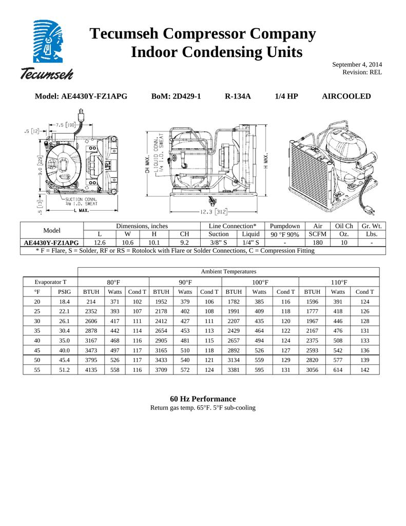 Teseh Compressor Wiring Diagram
