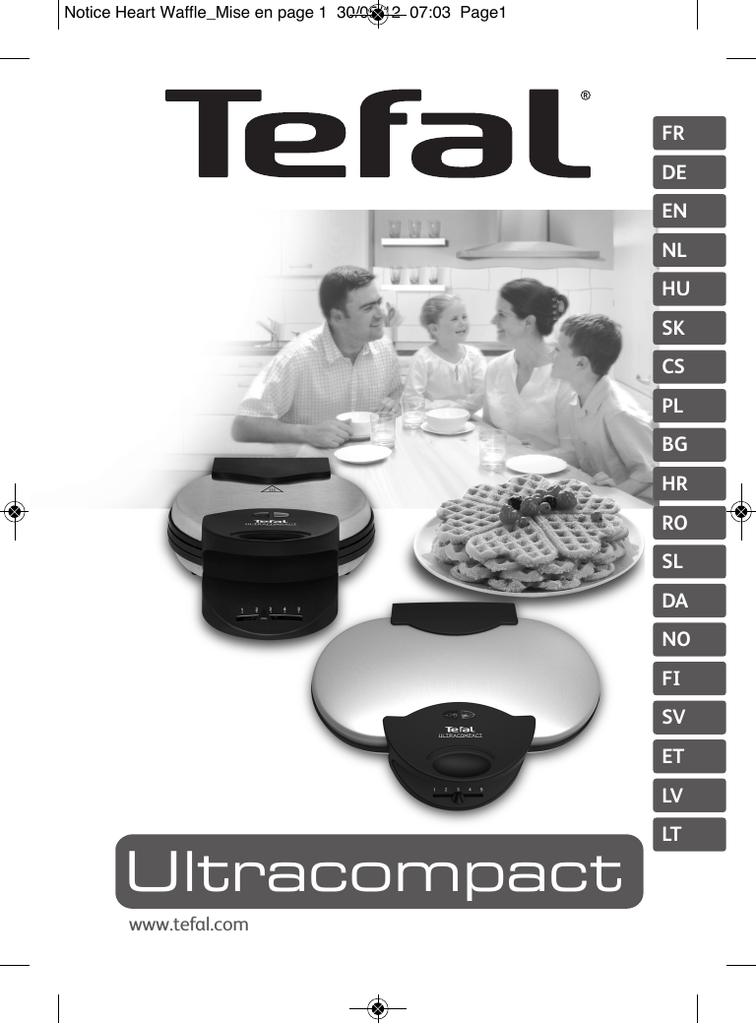 TEFAL WM310D11 Instruction Manual