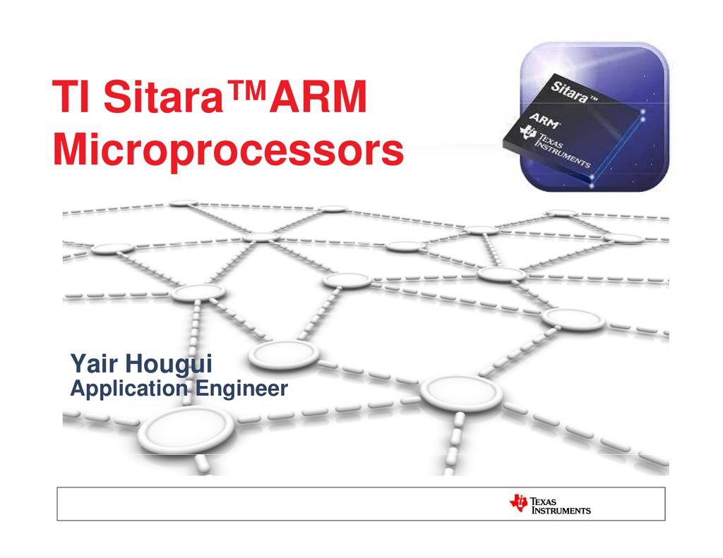 Texas Instruments MICROPROCESSOR TI SITARA User's Manual