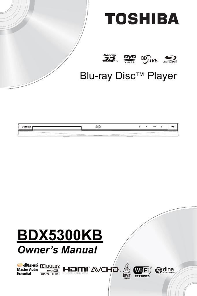 toshiba bdx1250 manual