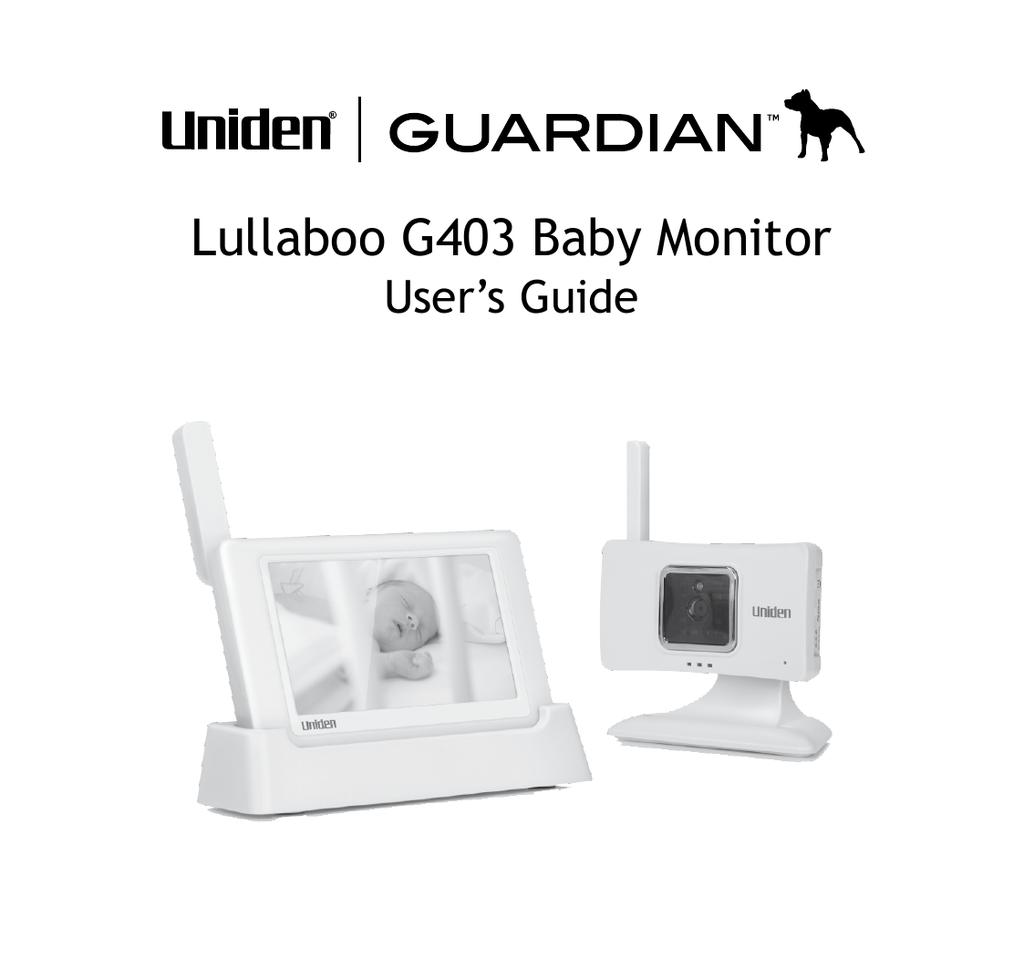 Uniden G403 User's Manual   manualzz com