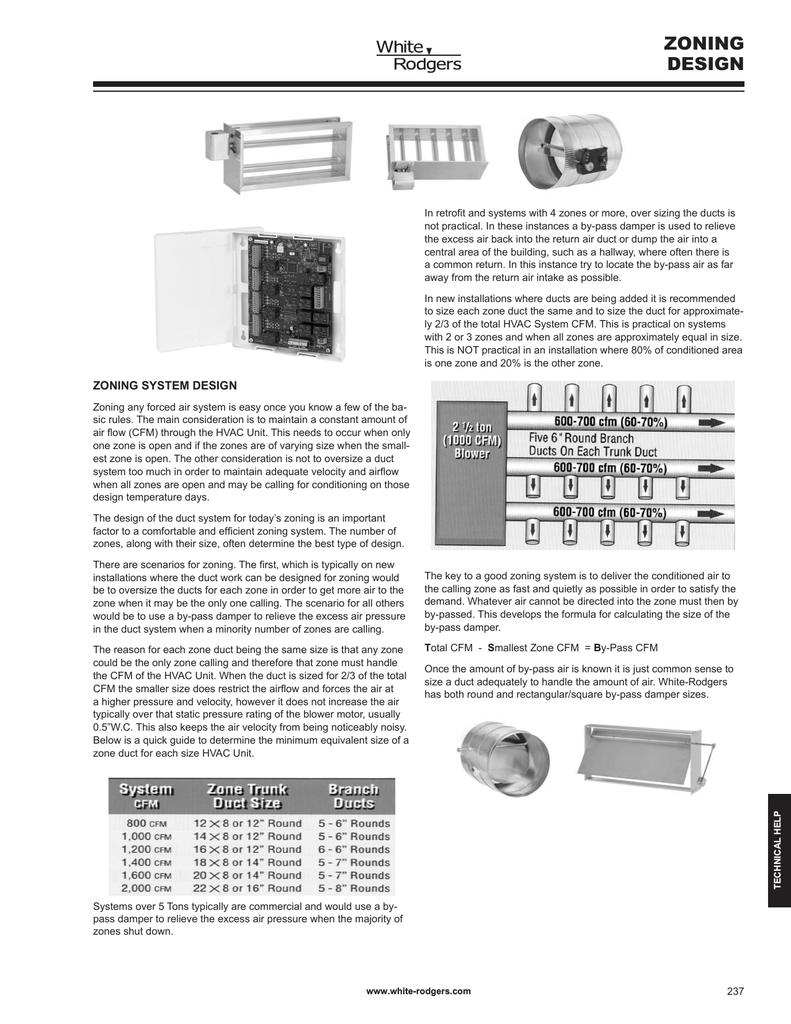 White Rodgers CAZ-2 Design Guide | manualzz com