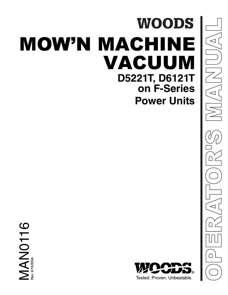 Woods Equipment D6121T User's Manual   manualzz com
