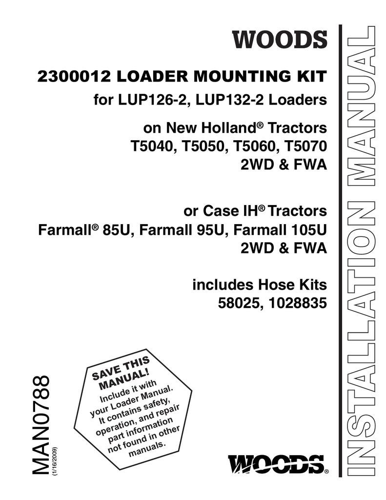 Woods Equipment T5040 User's Manual | manualzz com