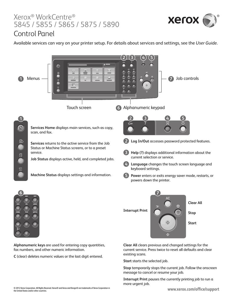 Xerox workcentre 5845/5855 user's manual | manualzz. Com.