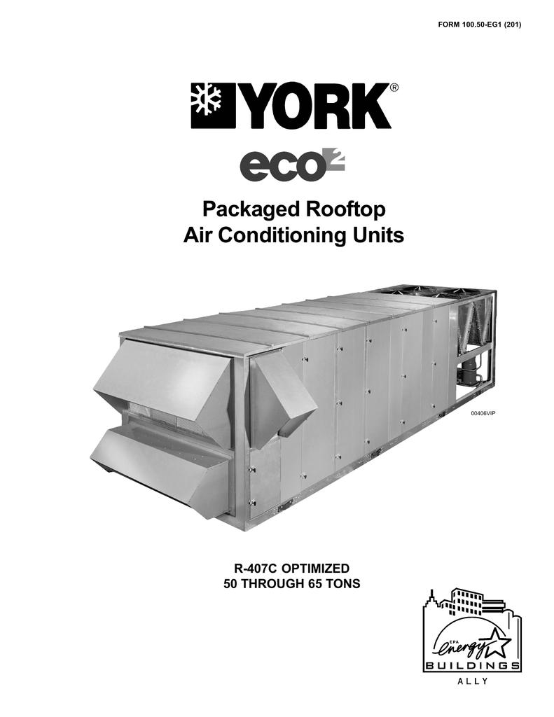 York ECO R-407C User's Manual | manualzz com