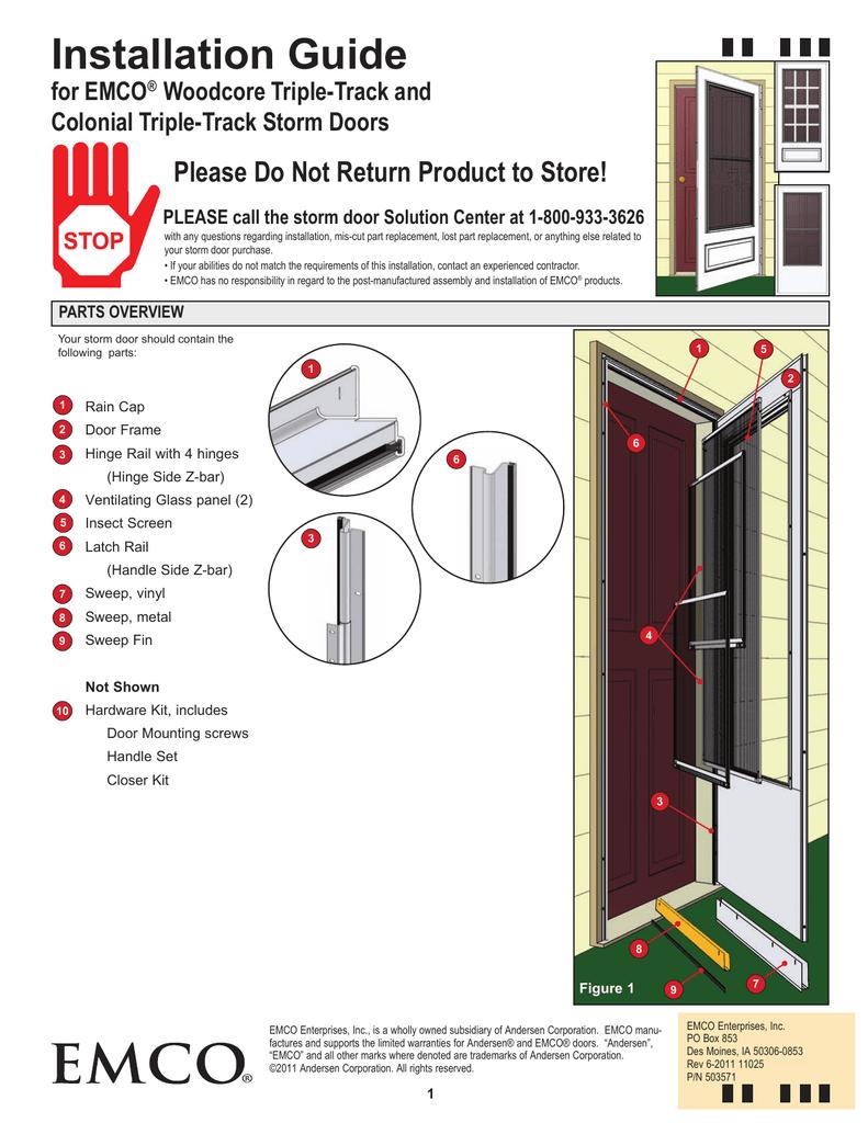 Emco E3tt 36al Installation Guide