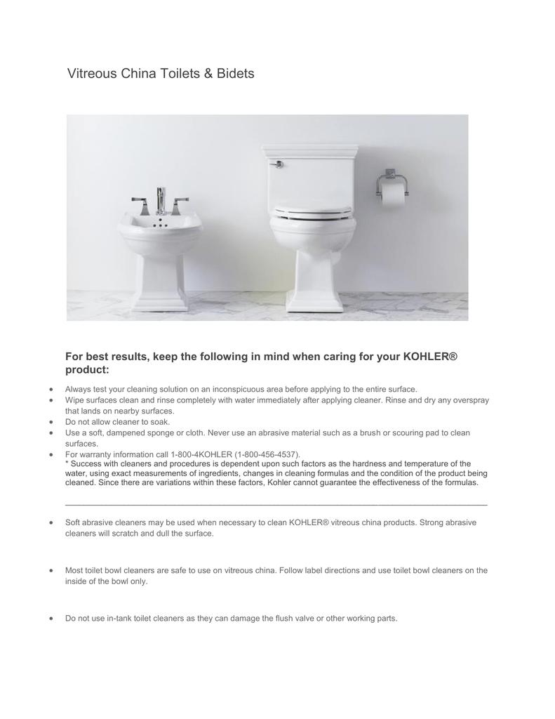 Kohler 3519 Ra 0 Use And Care Manual Manualzz