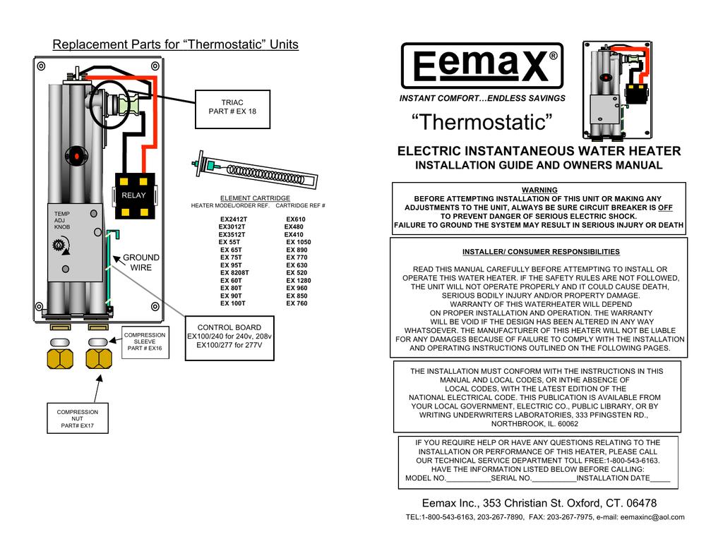 eemax wiring diagrams wiring diagrams u2022 rh autonomia co Simple Wiring Diagrams eemax wiring diagram