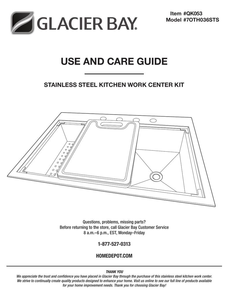 Glacier Bay Qk053 Installation Guide Manualzz