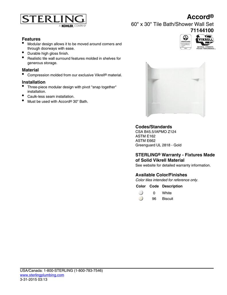 Sterling 71144100 96 Installation Guide Manualzz Com