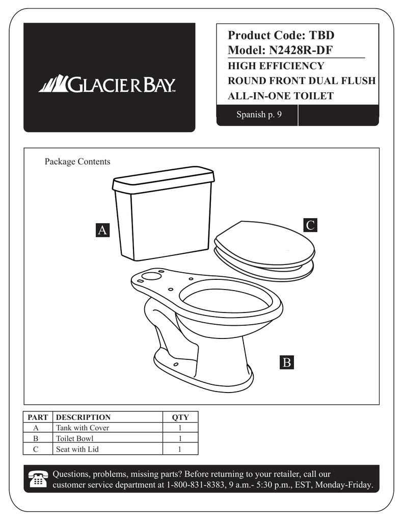 Swell Glacier Bay N2428R Df Installation Guide Manualzz Com Beatyapartments Chair Design Images Beatyapartmentscom