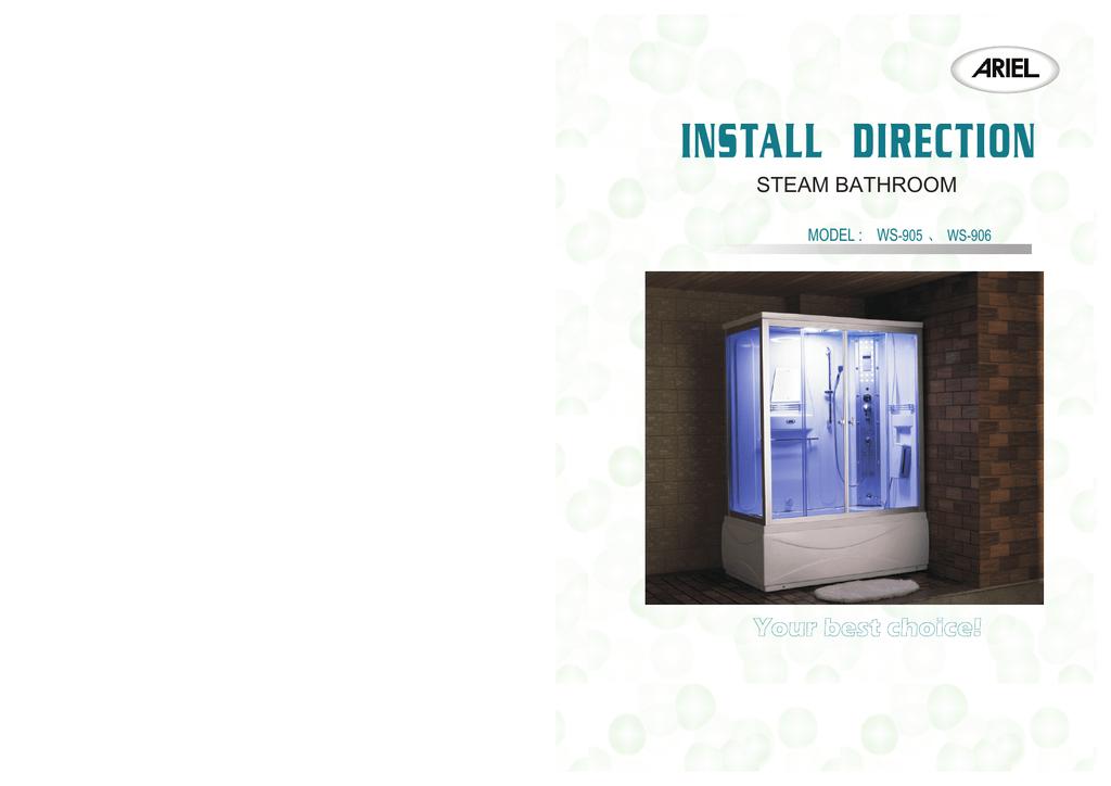 Ariel 905 Installation Guide Manualzz