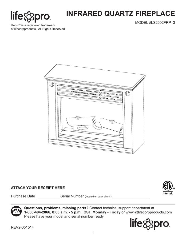 Lifesmart LS2002FRP13-IN Instructions / Assembly | Manualzzmanualzz