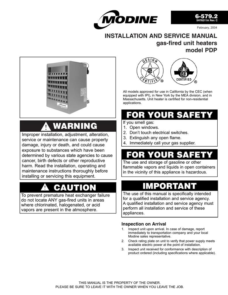 30 Modine Unit Heater Wiring Diagram