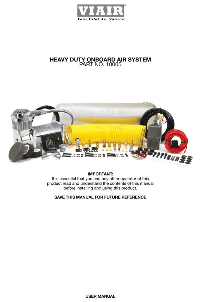 viair 10005 use and care manual manualzz com Electrical Contactor Wiring Diagram