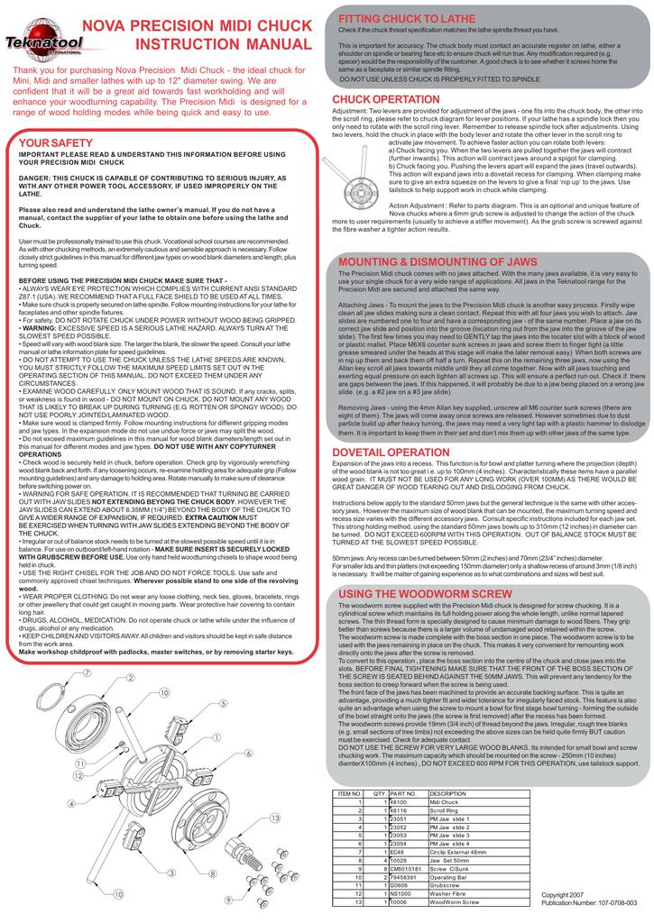 NOVA 48111 Use and Care Manual | manualzz com