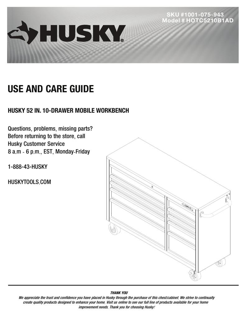 Manualguide Husky Wiring Diagram Hotc5210b1ad Use And Care Manual Manualzz Com Rh