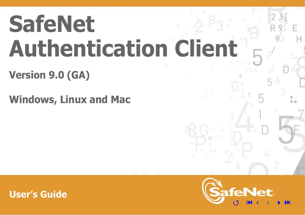 SafeNet Authentication Client User's Guide   manualzz com