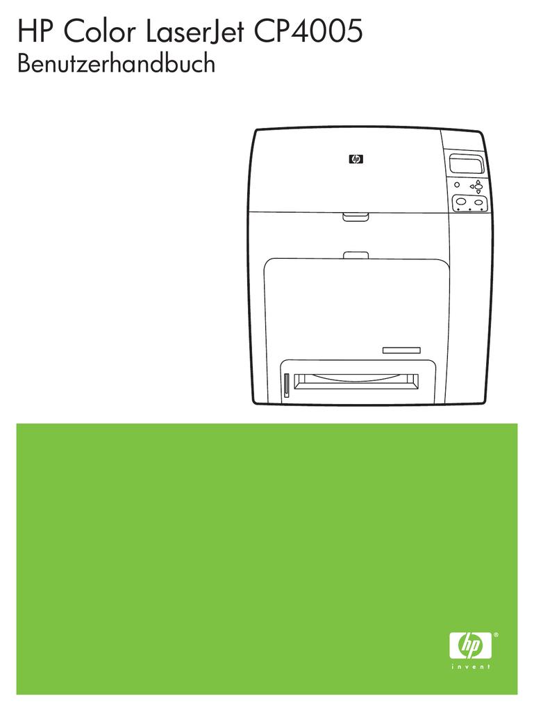 Hp Color Laserjet Cp4005 User Guide Cyan Cartridge Cb401a
