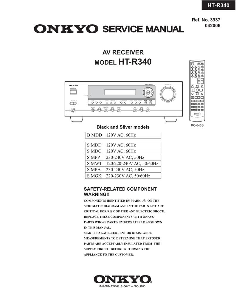 Service Manual Model Ht