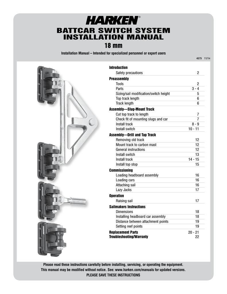 BATTCAR SWITCH SYSTEM INSTALLATION MANUAL 18   manualzz com