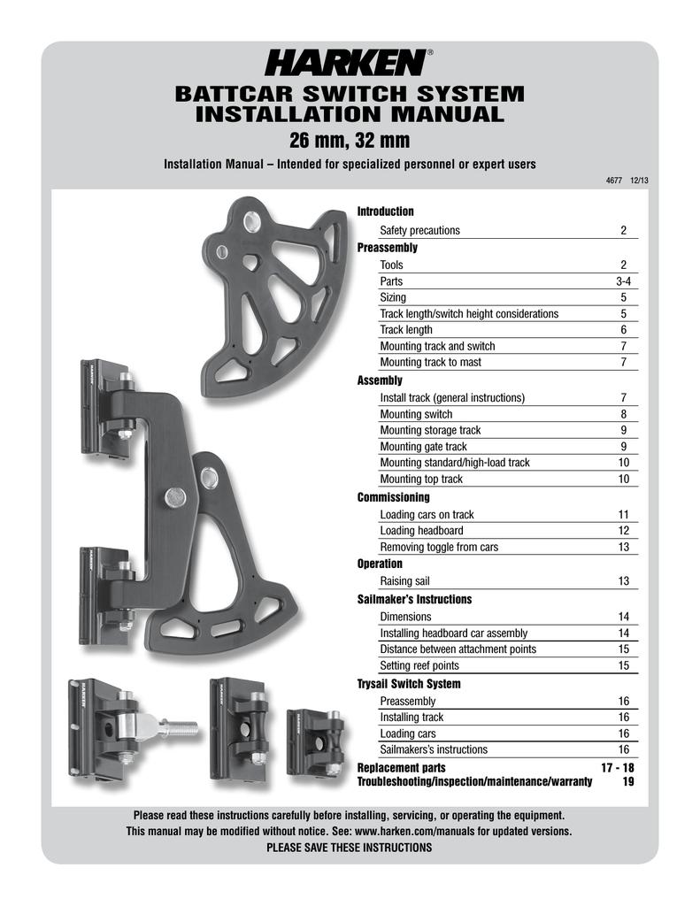 BATTCAR SWITCH SYSTEM INSTALLATION MANUAL 26 | manualzz com
