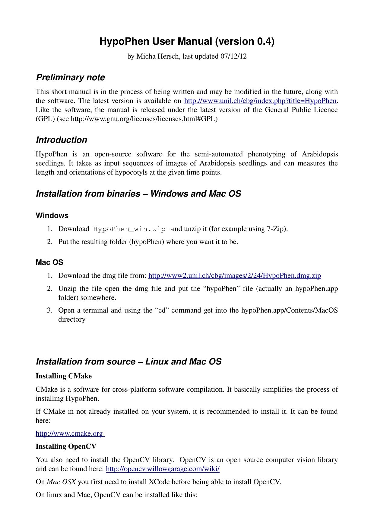 HypoPhen User Manual (version 0 4) | manualzz com