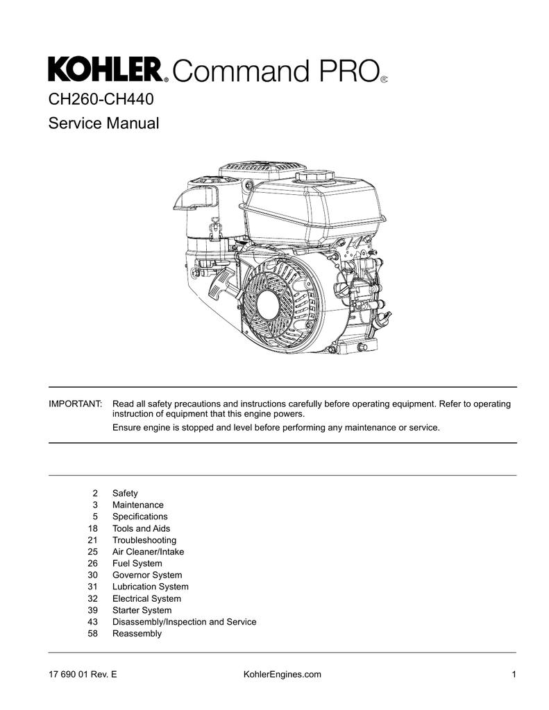 CH260-CH440 Service Manual | manualzz com