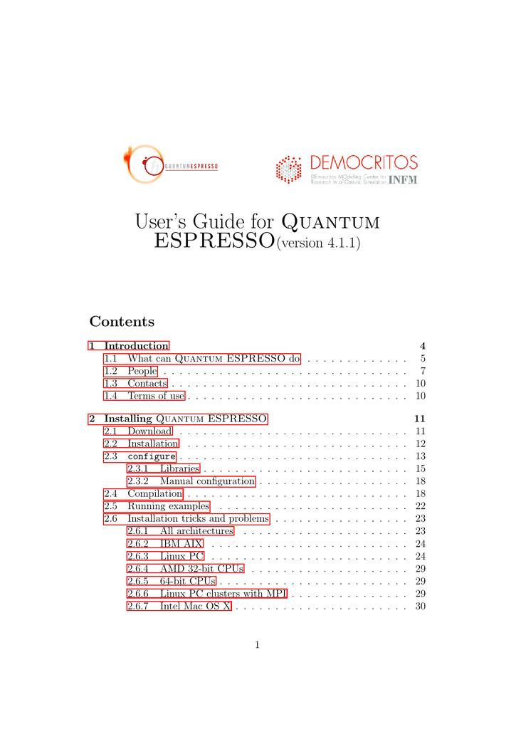 User's Guide for Quantum | manualzz com