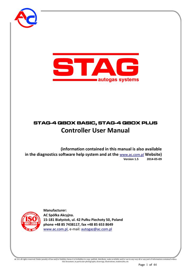Ac Stag Qbox Basic Installation Manual