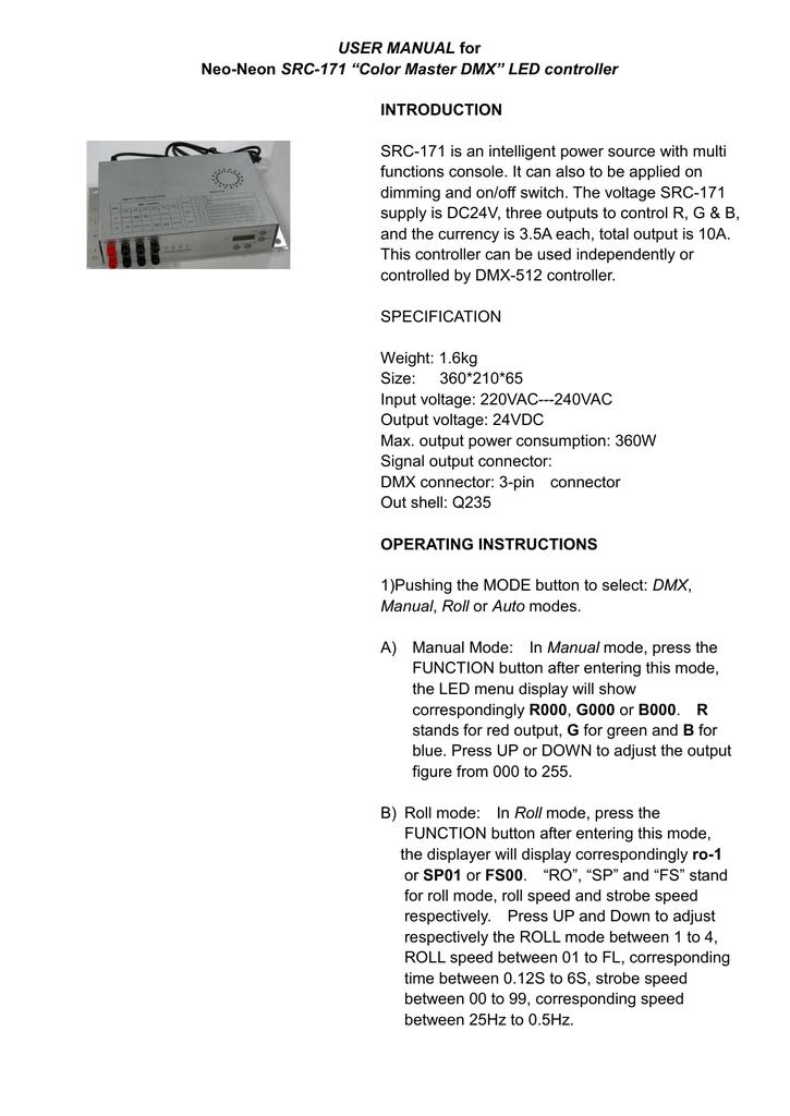 USER MANUAL - Mr Resistor | manualzz com