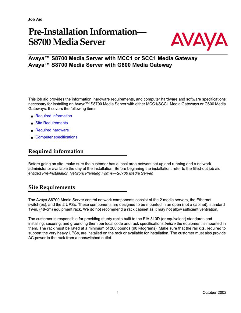 avaya s8700 user s manual manualzz com rh manualzz com Avaya Communication Manager Training IP Office vs Avaya S8700
