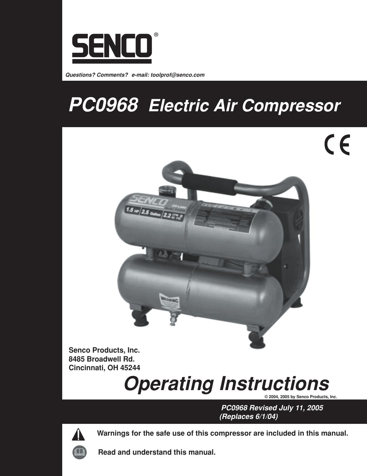 Senco 2408008LN Pc0967 Pc0968 Regulator