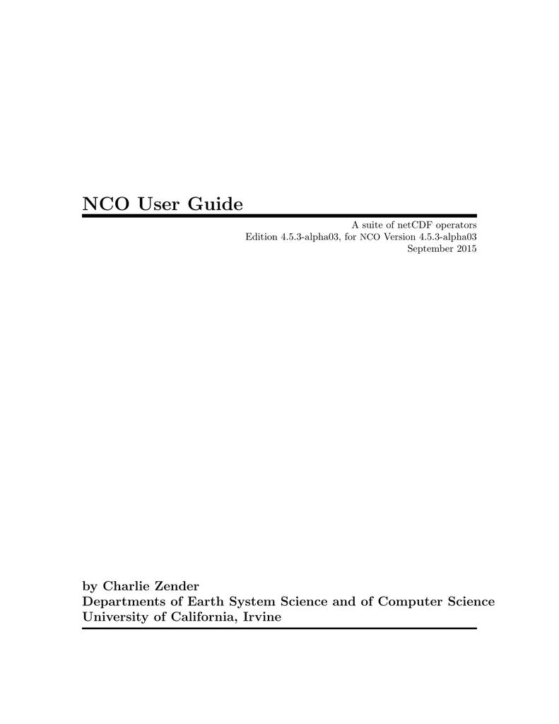 Nco User Guide 215291serialcablewiring