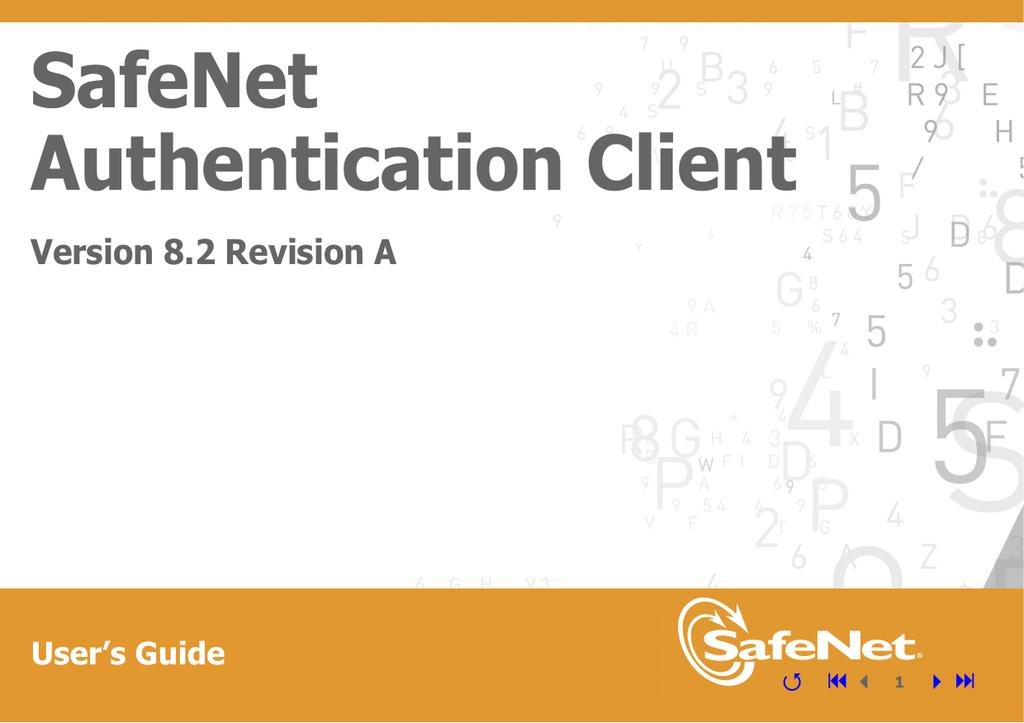 SafeNet Authentication Client User's Guide | manualzz com