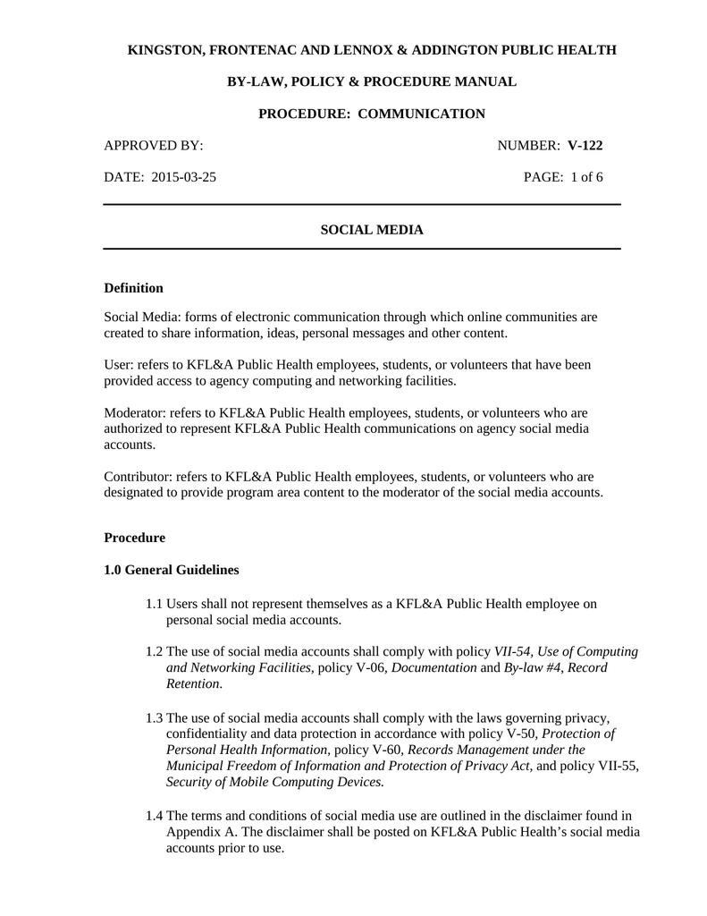 Procedure Manual Template from s1.manualzz.com