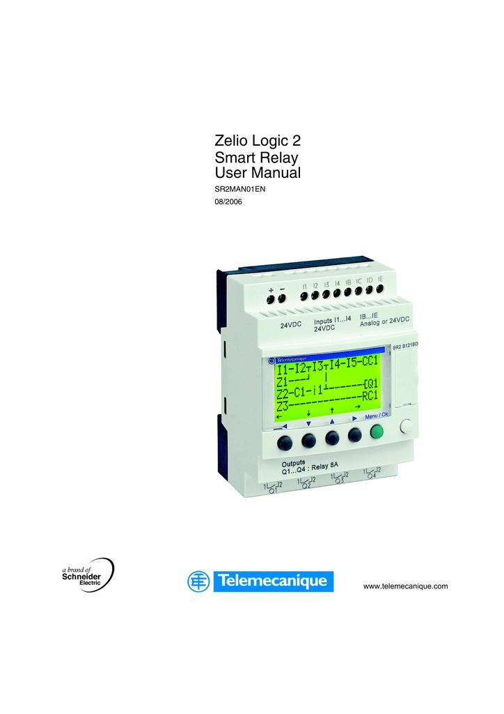 [SCHEMATICS_4FD]  Zelio Logic 2 Smart Relay User Manual   Manualzz   Zelio Smart Relay Wiring Diagram      manualzz