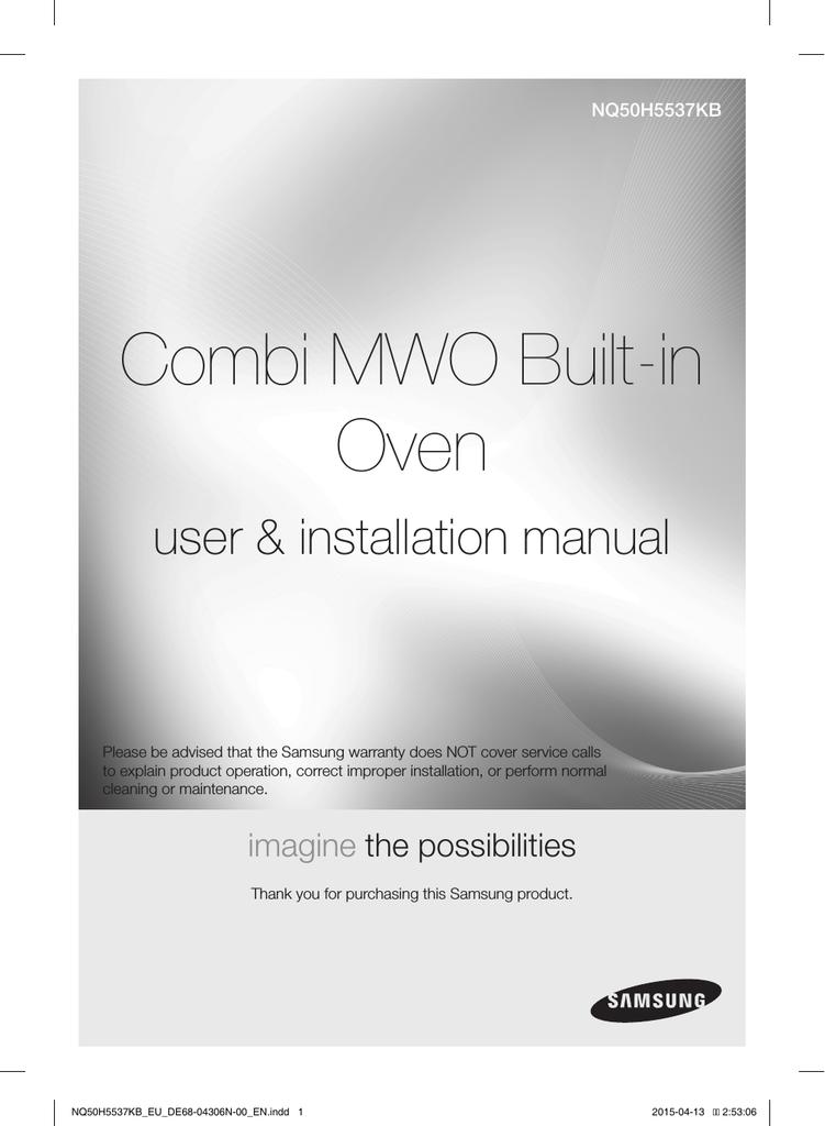 Samsung NQ50H5537KB/EU User Manual | manualzz com