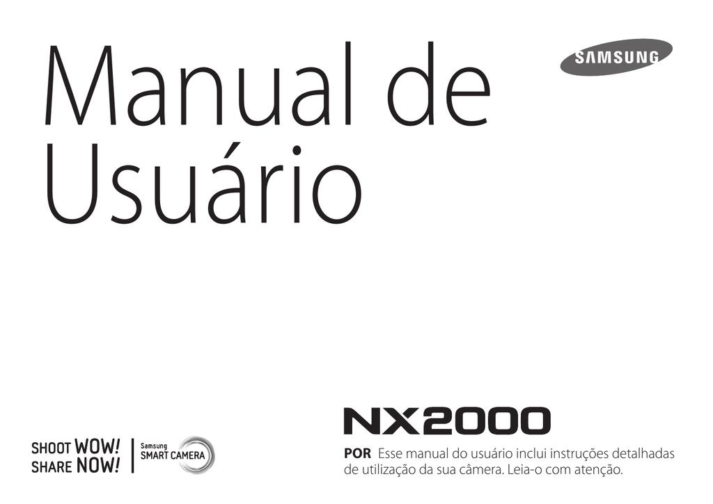 Samsung NX2000 Manual do usuário | manualzz com