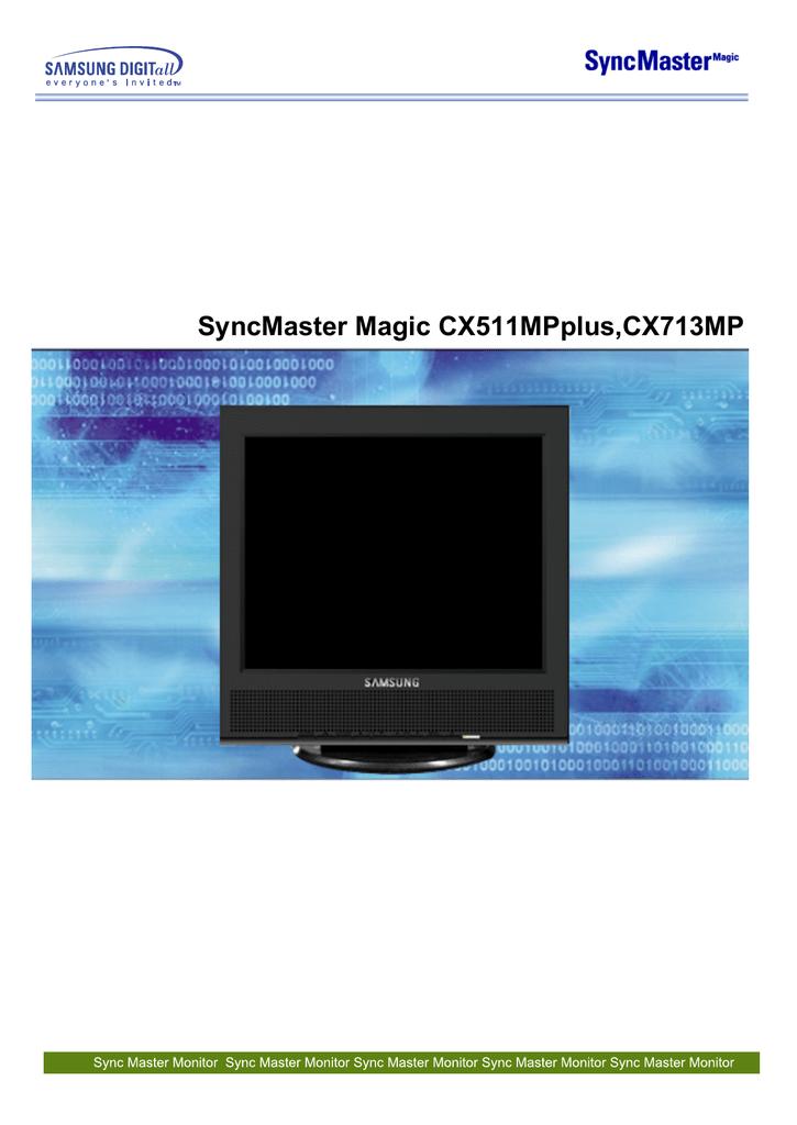 SAMSUNG MONITOR SYNCMASTER MAGIC CX210T DRIVER FOR WINDOWS 8