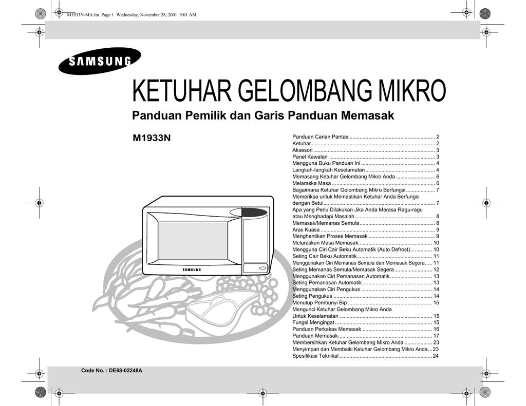 Samsung M1933n User Manual Cara Wiring Lampu Rumah